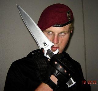 Jack Krauser - Resident Evil cosplay by Razorback ...