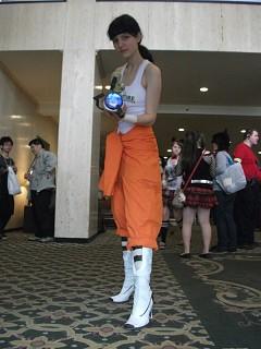 Chell Portal 2 Cosplay By Miranda Chan Cosplay Com