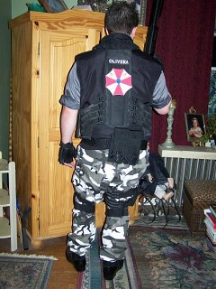 Carlos Olivera Resident Evil Apocalypse Cosplay By