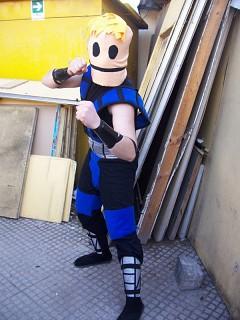 Sub-Zero Unmasked - Mortal Kombat cosplay by rauru-kun ...