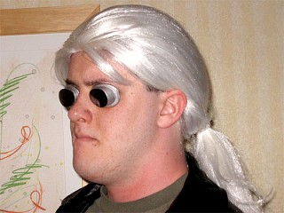 Ghost in the shell batou cosplay