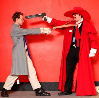 Hellsing Cosplay Alexander Anderson Gloves for Costume