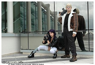 Ghost in the shell stand alone complex cosplay