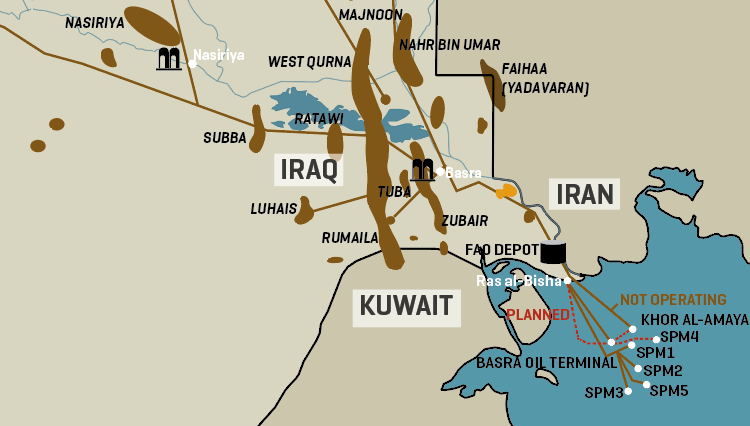 Iraq's Southern Oil & Gas Infrastructure
