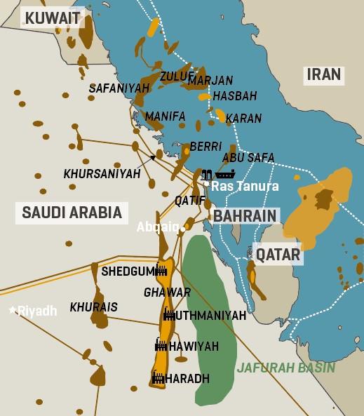 Saudi Arabia Key Oil & Gas Infrastructure