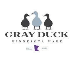 gray duck vodka logo