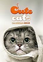 Cute Cats Celebrity Wall Calendar 2018