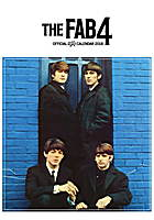 Fab4 - The Beatles Celebrity Wall Calendar 2018