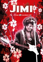 Jimi Hendrix Celebrity Wall Calendar 2018