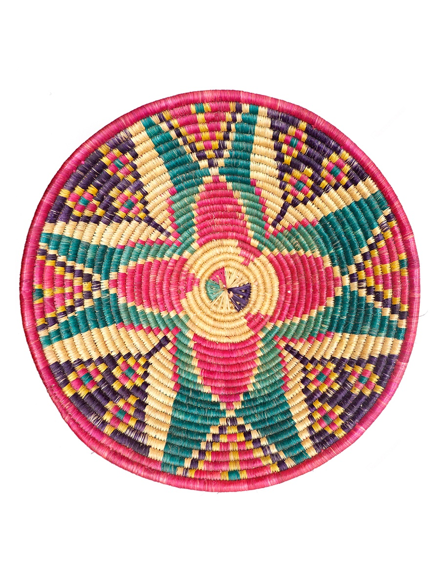 Radha SSS Grass 12 x 8 inches Multicolor Small Daliya