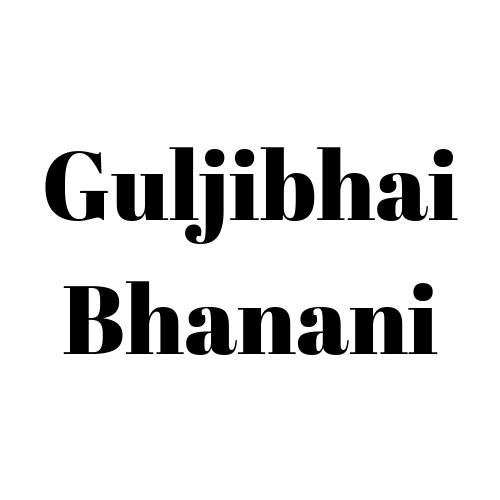Guljibhai Bhanani