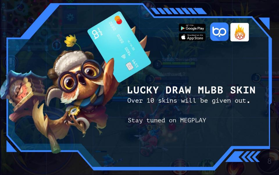 Mobile Legend lovers, win cash prizes, limited edition skins with BigPay when you join our online competition!