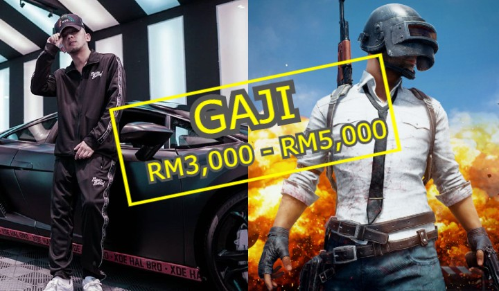 Malaysian rapper offers RM3,000 – RM5,000 salary to join his PUBG esports team