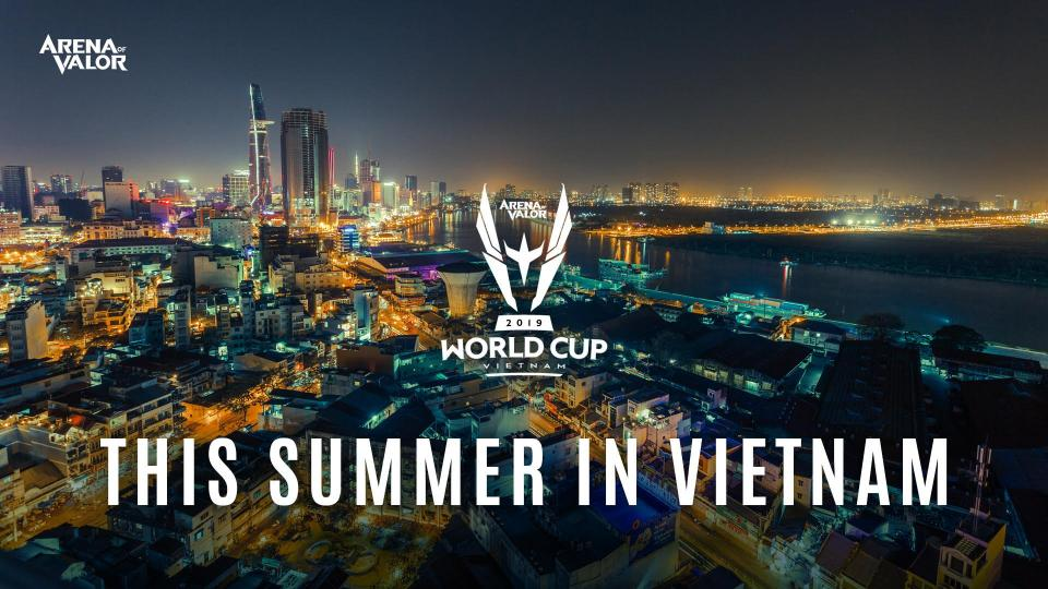 Arena of Valor World Cup 2019 will be Hosted in Vietnam with USD$500,000 prize pool