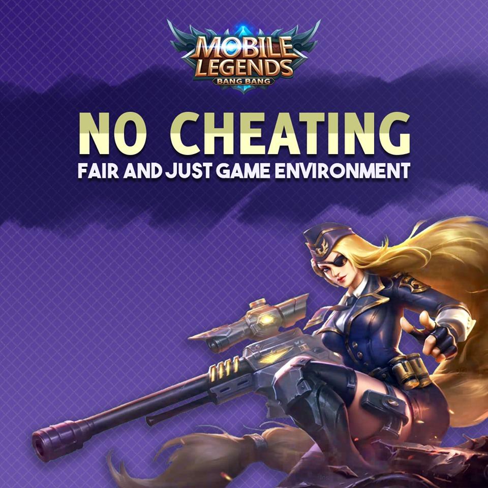 Pemberitahuan dari Official Mobile Legends Bang Bang.