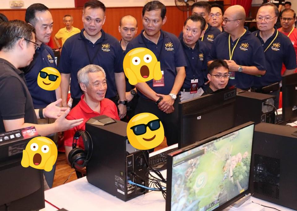 PM Lee now knows how to play Dota 2 (and why the Singapore government is getting into Esports.)