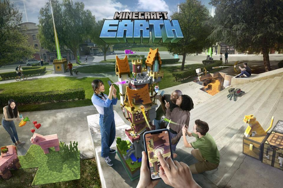 Minecraft Earth Early Access: Launches This Month