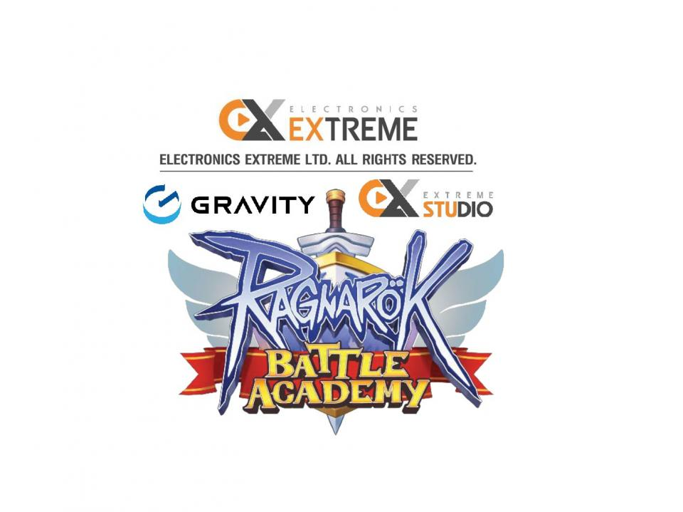 """Gravity & Extreme Studio announced the Co-development of the New Game Project """"Ragnarok Battle Academy (ROBA)"""