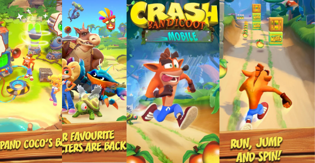 The return of Crash Bandicoot to mobile