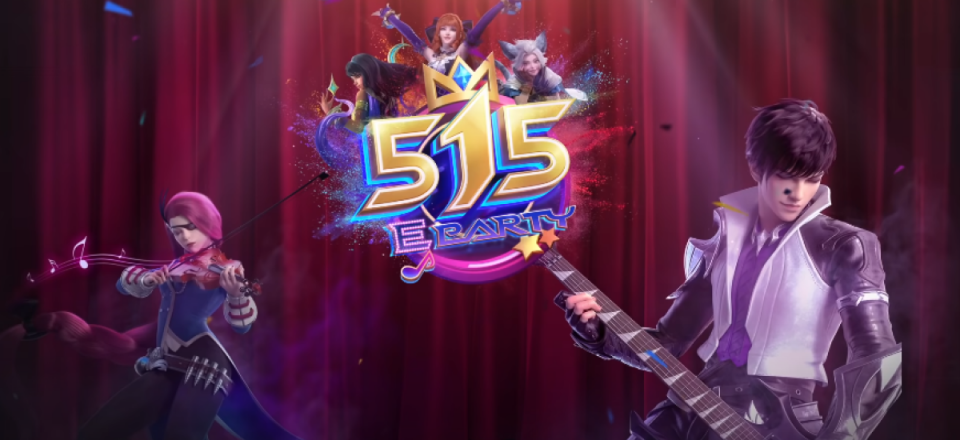 Do you know there is a Mobile Legends: Bang Bang official theme song for this year's 515 celebration?