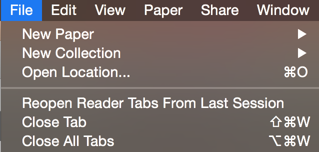 Read your PDFs in the full screen reader mode - Papers 3 for