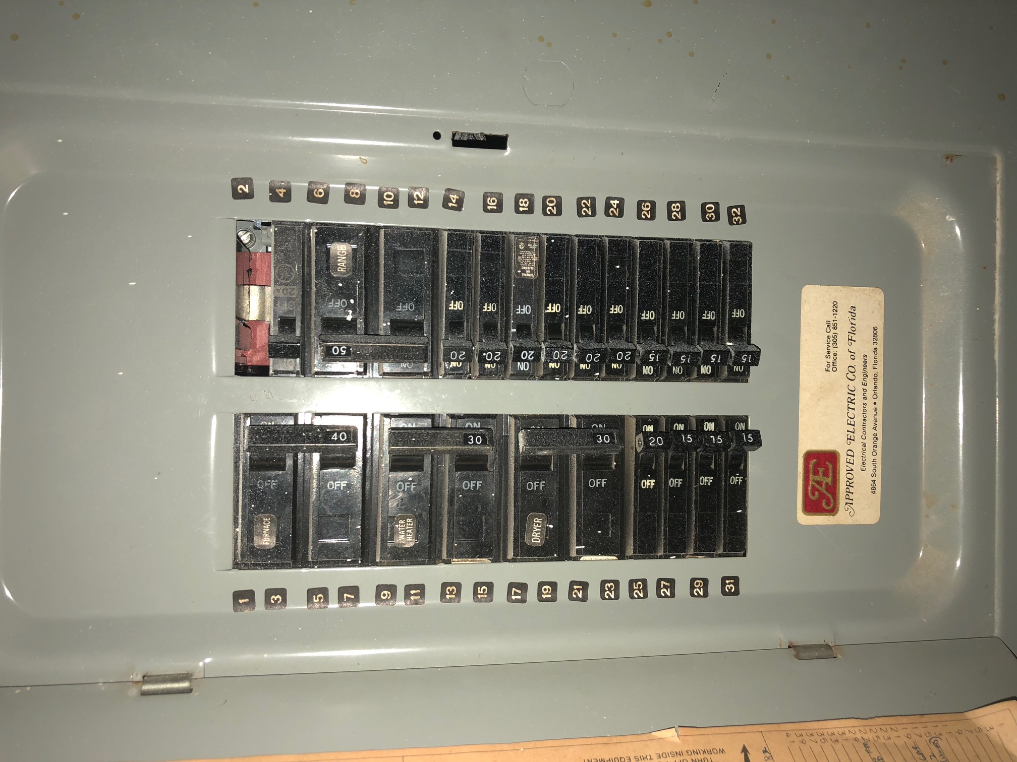 Question Regarding Panel Internachi Inspection Forum 20 Amp Outlet On 15 Circuit This Page Contains All Information About