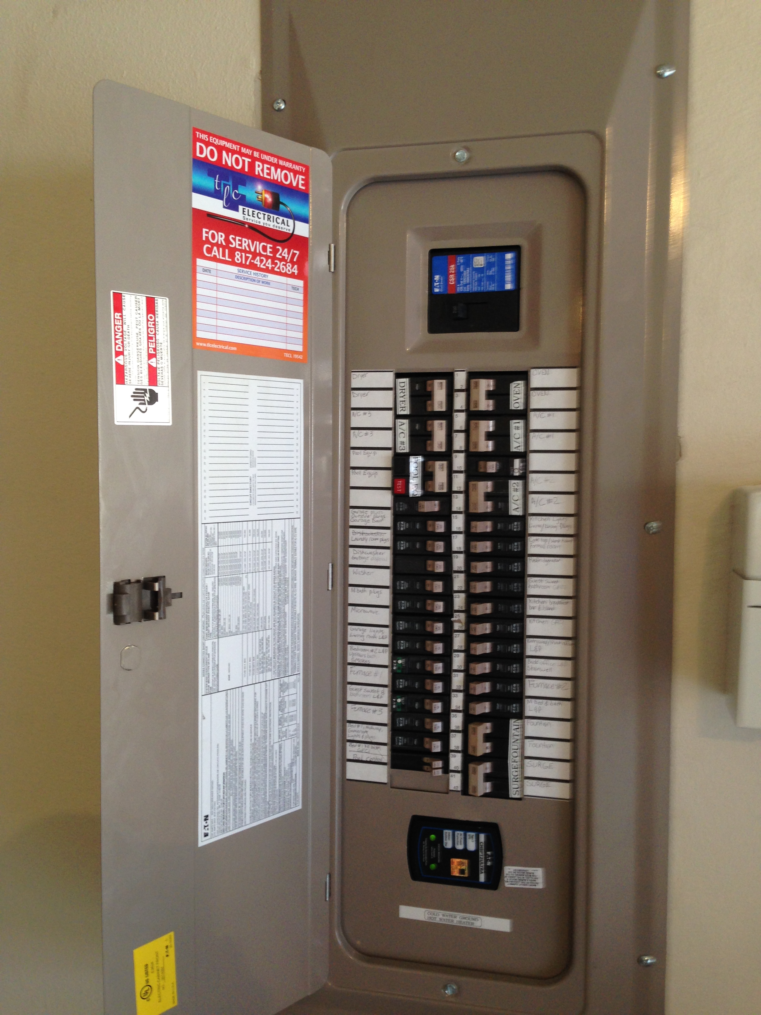 Residential Electrical Fuse Box : How to perform residential electrical inspections page