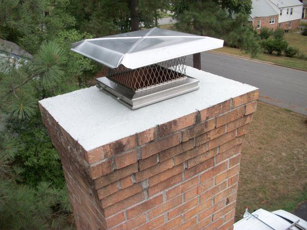 Brick Chimney Wrap : Student discussions of quot how to inspect fireplaces stoves