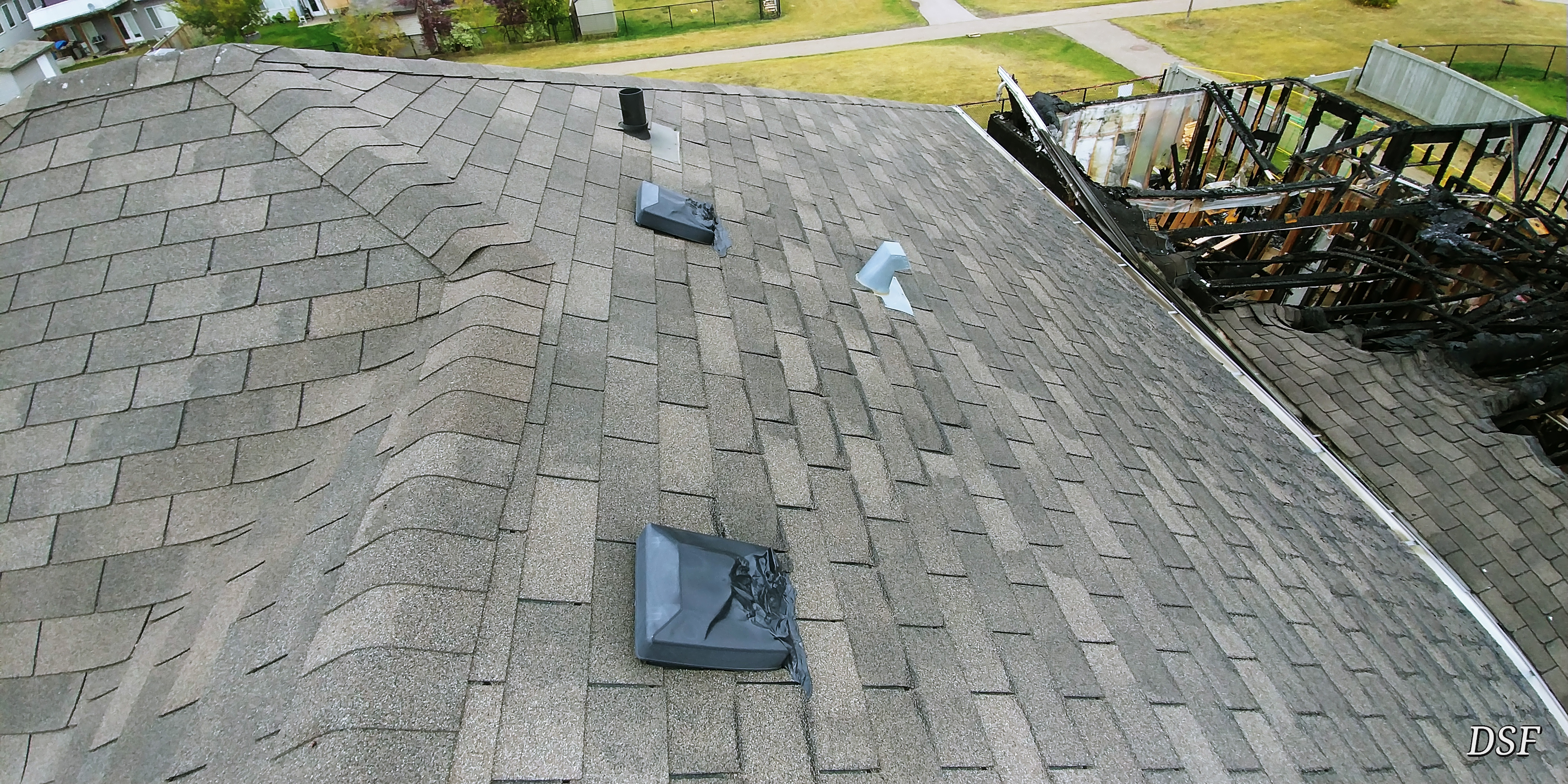 How to perform roof inspections course page 840 internachi being that these shingles are no longer in production and the roof being unmatchable i recommend a full roof replacement along with the two turtle vents sciox Image collections