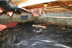 """Advanced Inspection of Crawlspaces"" online video course"