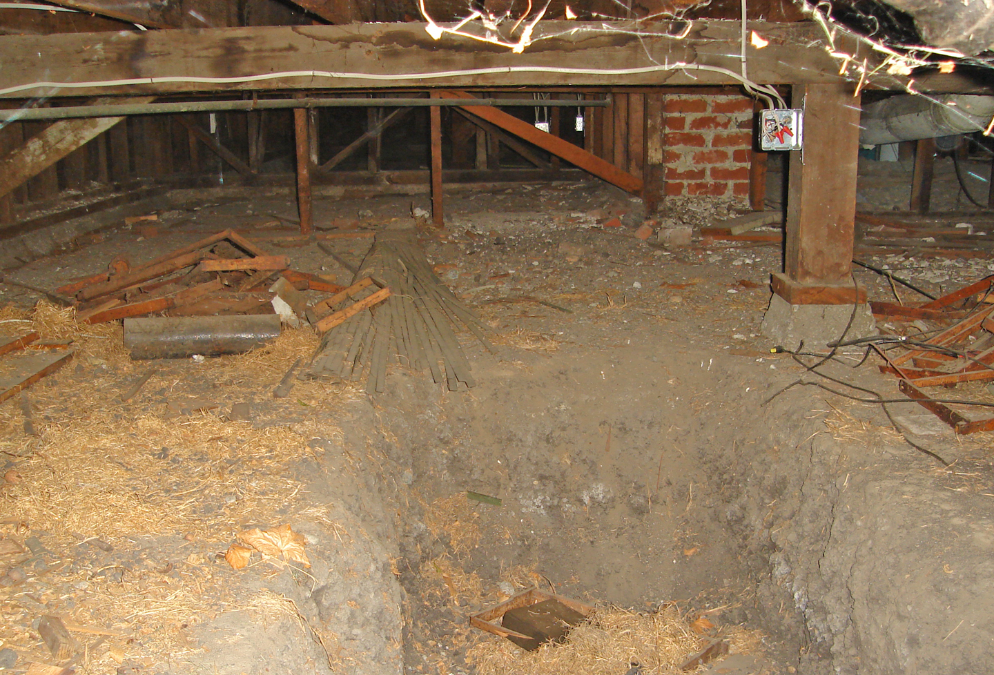 Advanced inspection of crawlspaces online video course for Wood crawl space foundation