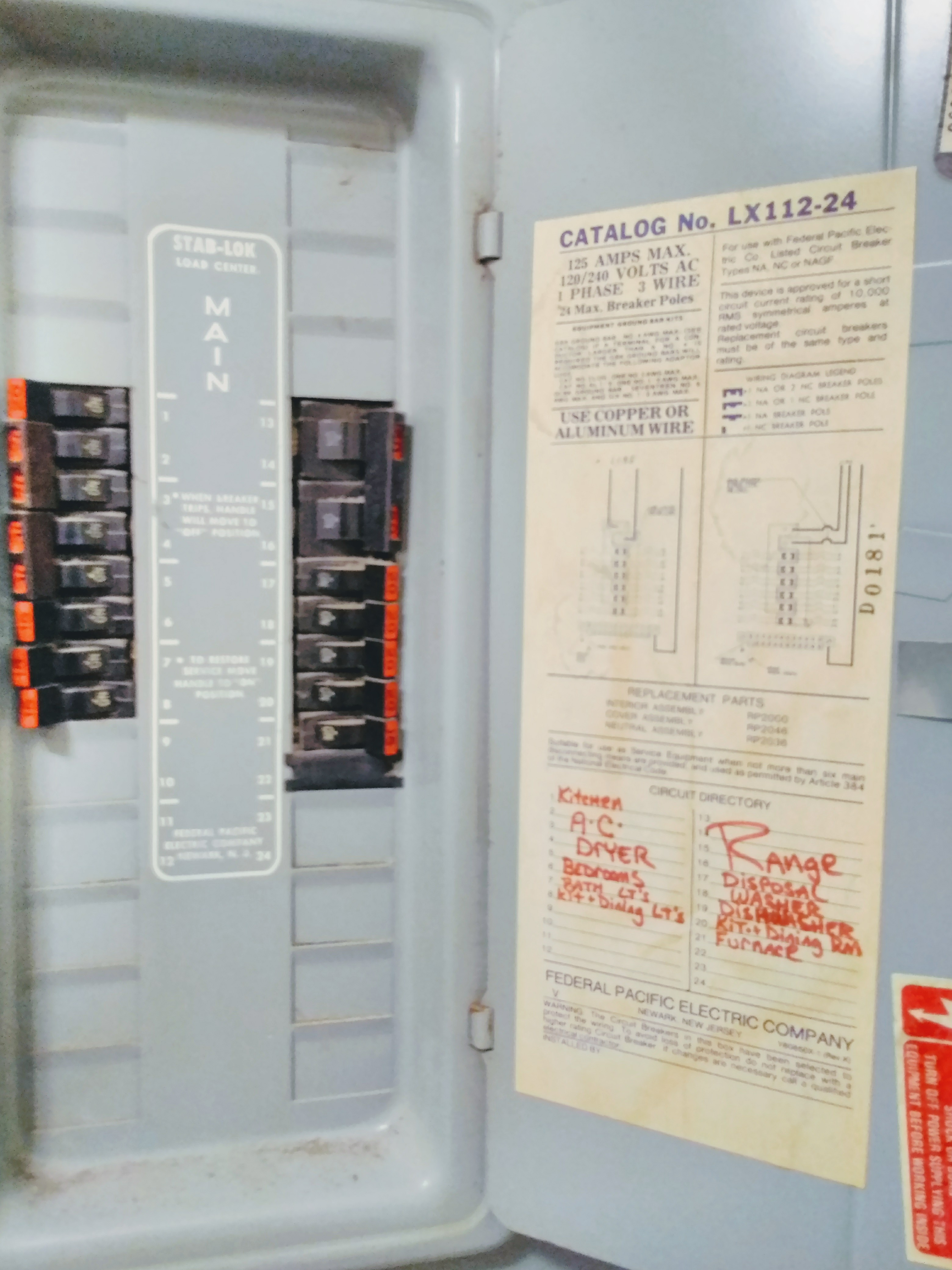 Electrical Panel Inspection Training Video Course Forum Sitemap With Arc Fault Circuit Breaker Wiring Diagram On Hard A Stove Page 13 Internachi