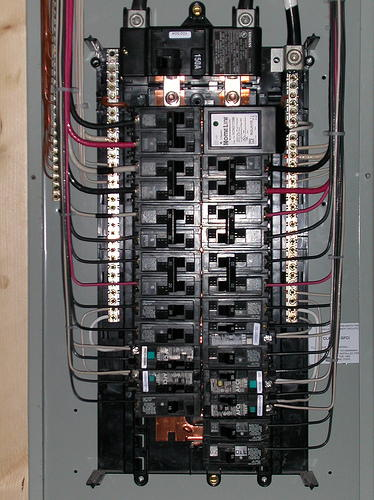 electrical panel inspection training video course page 267 rh nachi org electrical control panel wiring+video Basic Electrical Wiring Diagrams