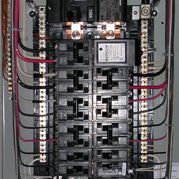 Electrical panel inspection training video course page for Best electrical panel for house