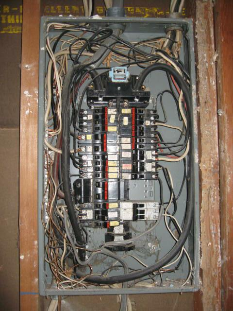 electrical panel inspection training video course page 282 rh nachi org Basic Electrical Wiring Breaker Box Residential Electrical Wiring Diagrams