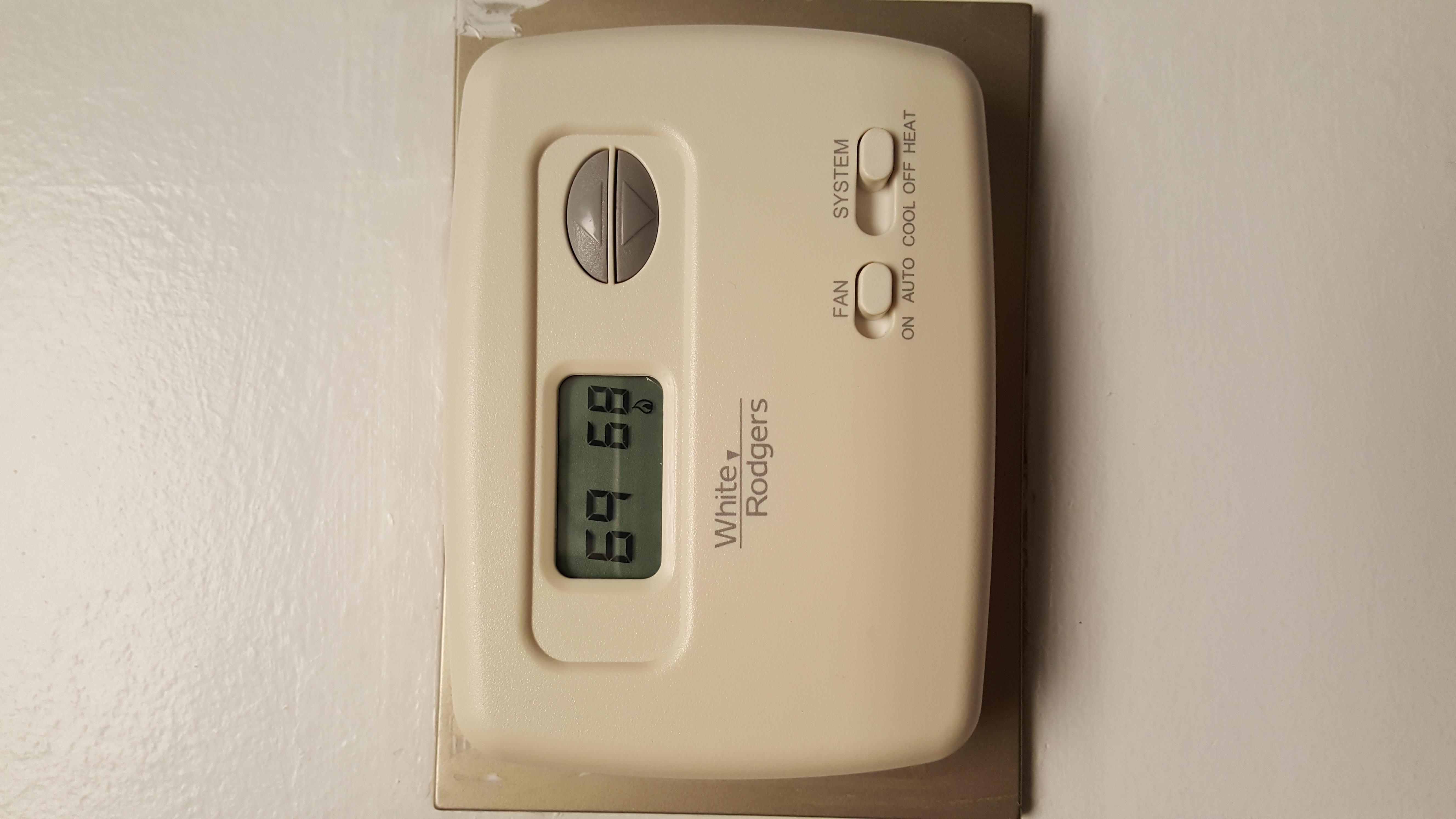 how to set temperature for hvac