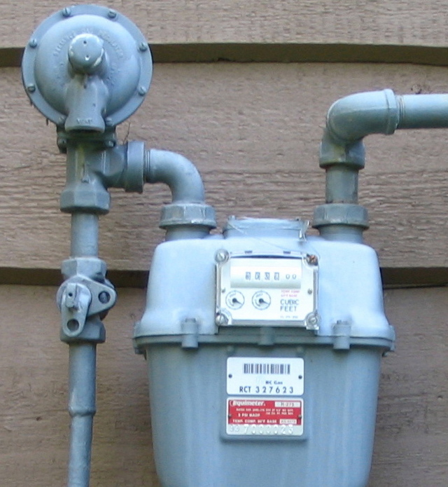 Natural Gas Well Meter : How to inspect hvac systems course page internachi