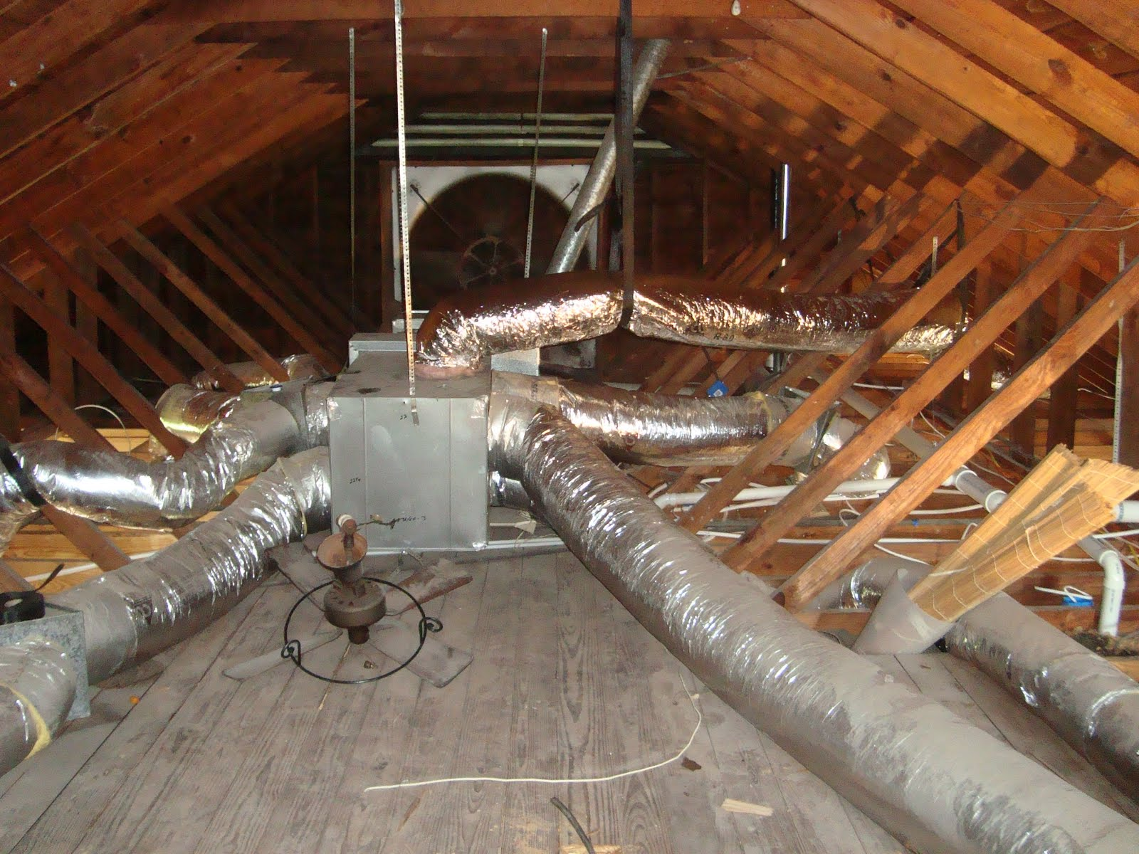 Air Duct System : How to inspect hvac systems course page internachi
