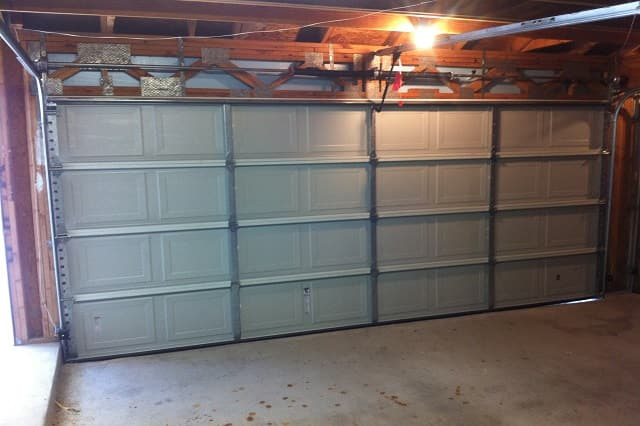 How to inspect the attic insulation ventilation and for 18x7 garage door