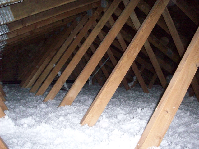 attic_insulation_after_3_jpg Mobile Home Air Duct Condensation on mobile home ac duct, mobile home roof designs, mobile home duct work, mobile home duct repair, mobile home ac units,