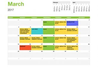 Creating Useful Content Calendars