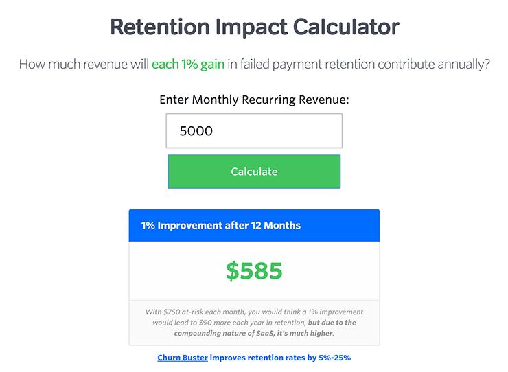 Retention Impact Calculator