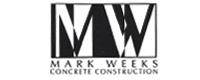 Website for Mark Weeks Concrete