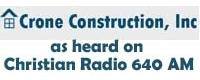 Website for Crone Construction, Inc
