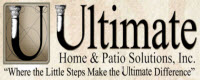 Website for Ultimate Home & Patio Solutions, Inc.