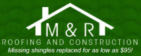 Website for M & R Roofing