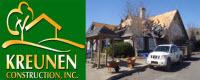 Website for Kreunen Construction, Inc.