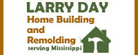 Website for Larry Day Home Builders