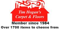 Website for Tim Hogan's Carpet & Floors