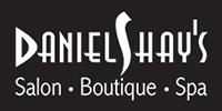 Website for Daniel Shay's Salon
